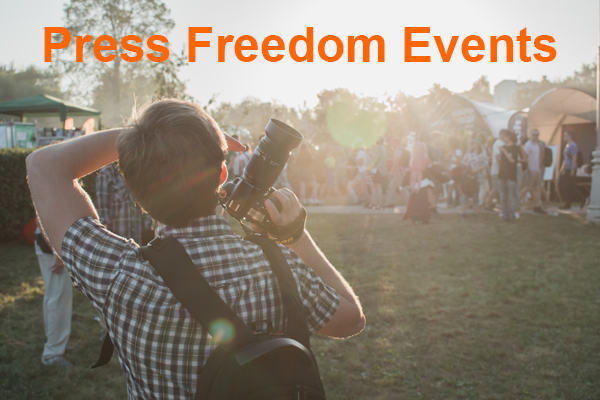 Press Freedom Events