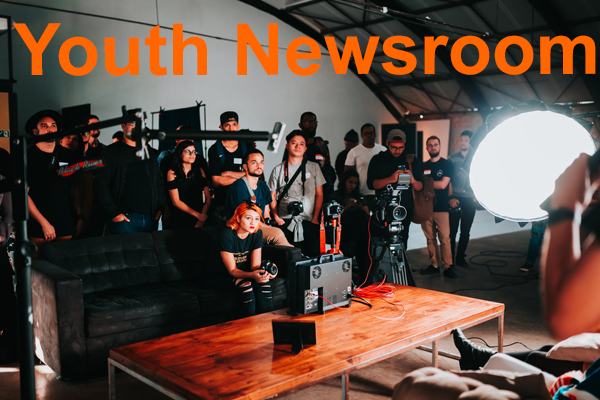 Youth Newsroom banner